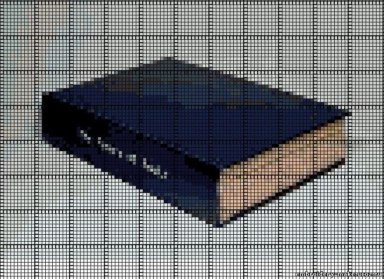 Схема вышивки книги - Мои